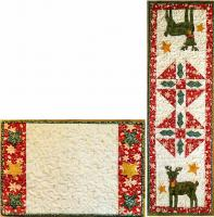 Reindeer & Stars Table Runner & Placemat Pattern  CTG-143