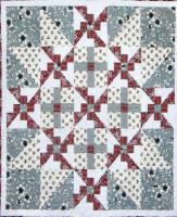 Snowflake Quilt Pattern CTG-144