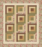 Topsy Turvy Cabins Quilt Pattern CTG-161