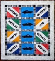 Classic Cars Quilt Pattern CTG-165