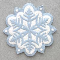 Snowflake #1 Table Topper Pattern DBM-001