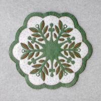 Leaf Snowflake #3 Table Topper Pattern DBM-003