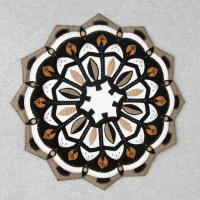 Rose Window Table Topper Pattern DBM-004