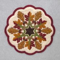 Fall Leaves Table Topper Pattern DBM-006