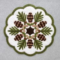 Pine Cones Table Topper Pattern DBM-007