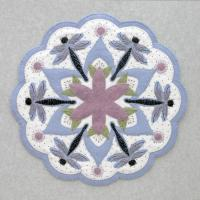 Dragonfly Table Topper Pattern DBM-009