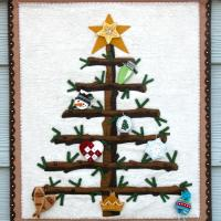 Yule Tree Advent Calendar Pattern DBM-020