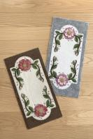 Wild Roses Table Mat Pattern DBM-032