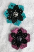 Dips 'N' Tips Flower Pins Pattern DBM-1304