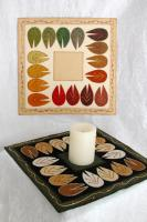 Modern Leaves Table Topper Pattern DBM-1416
