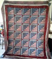 Stripes and Stars Quilt Pattern DFD-19e