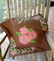 Daises on Trellis Quilt Pattern DFD-4