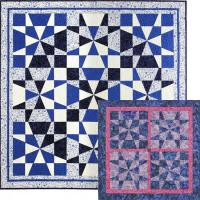 Op-Art Kaleidoscope Quilts Pattern DFQ-107