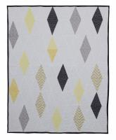 Random Diamonds Quilt Pattern DWQ-1556e