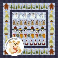 Christmas Row x Row Quilt Pattern FCP-003