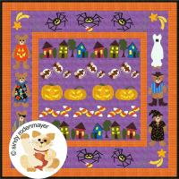 Halloween Row x Row Quilt Pattern FCP-004