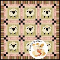 Baa, Baa Sheep Quilt Pattern FCP-015