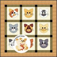 Tom Cats Quilt Pattern FCP-018