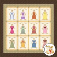 Hunnie Bunnies Quilt Pattern FCP-024
