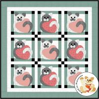 Kitty Corner Quilt Pattern FCP-046