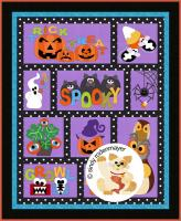 BooTacular Quilt Pattern FCP-059