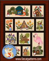 Gnome Grown Quilt Pattern FCP-061