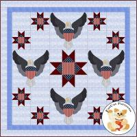 American Valor Quilt Pattern FCP-064