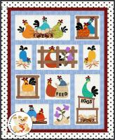 Hen Party Quilt Pattern FCP-065