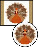 Turkey Talk Placemat Pattern FCP-069
