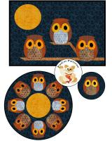 Little Owlbert Table Set Pattern FCP-073