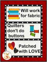 National Quilters Day Wall Hanging Pattern FCP-076