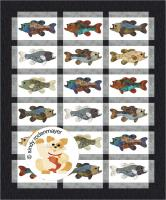 Catch of the Day, Bass Quilt Pattern FCP-077