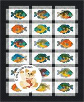 Catch of the Day, Bluegill Quilt Pattern FCP-078