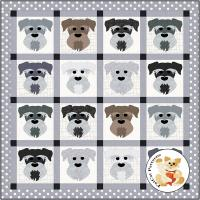 Dog Days, Schnauzer Quilt Pattern FCP-079