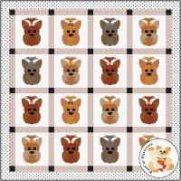 Dog Days, Yorky Quilt Pattern FCP-080
