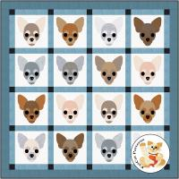 Dog Days, Chihuahua Quilt Pattern FCP-081