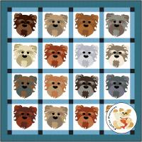 Dog Days, Mixed Breed Quilt Pattern FCP-083