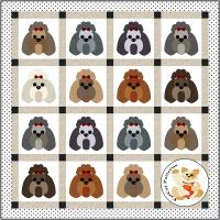 Dog Days, Shih Tzu Quilt Pattern FCP-084