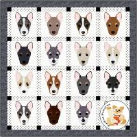 Dog Days, Rat Terrier Quilt Pattern FCP-089