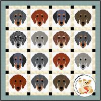Dog Days, Dachshund Quilt Pattern FCP-091