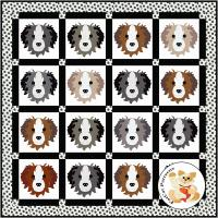 Dog Days, Border Collie Quilt Pattern FCP-094