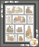 All the Purrs Quilt Pattern FCP-095