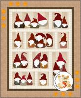 Here We Gnome Again Quilt Pattern FCP-098