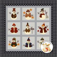 Flakey Friends 2 Quilt Pattern FCP-100