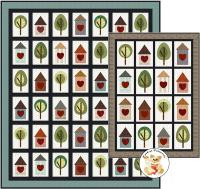 Backyard Friends Quilt Pattern FCP-104