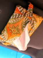 Car Visor Pocket Tissue Pattern FGD-705