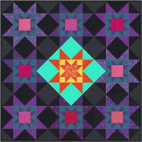 Star Burst Quilt Pattern FHD-112