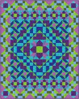 Snake in the Grass Quilt Pattern FHD-129