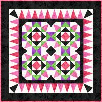 Purplessence Quilt Pattern FHD-203