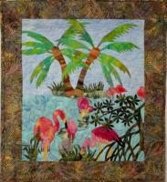 Isle of Flamingos Quilt Pattern FID-751